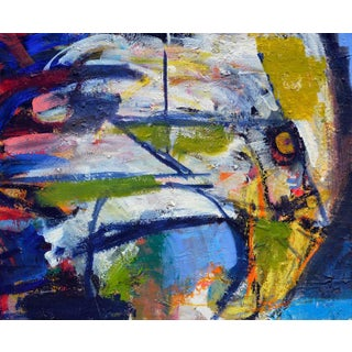Kristin Cohen 'Promise of Spring' Abstract Painting For Sale