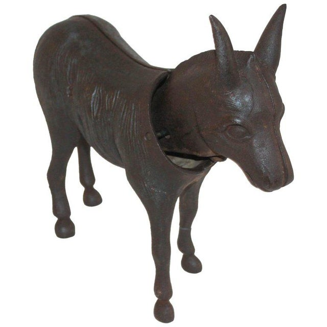 19Thc Donkey Door Stop With Nodder Head For Sale - Image 10 of 10