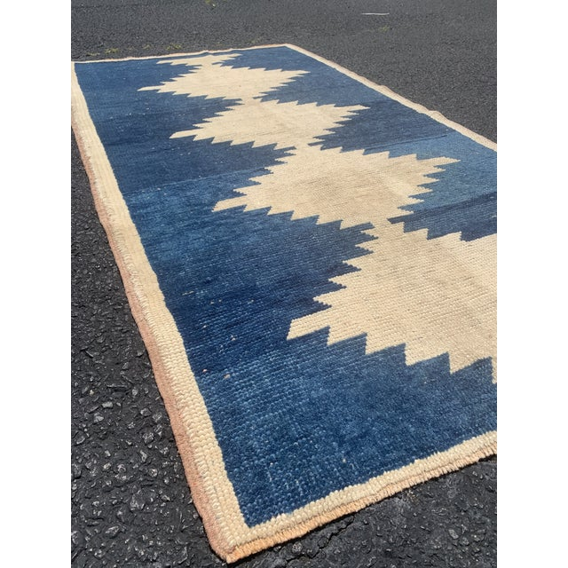 Islamic 1950's Vintage Persian Gabbeh Tribal Rug- 3′1″ × 5′9″ For Sale - Image 3 of 11