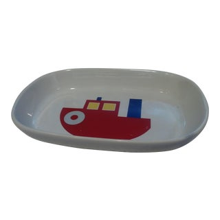 1980s Vintage New Marimekko Boat Tray For Sale
