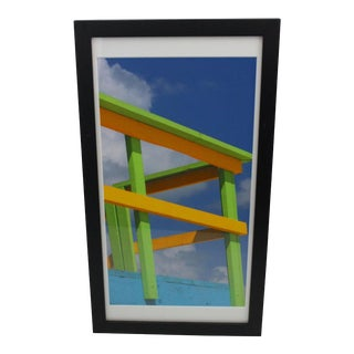 """""""Lifeguard Stand at South Beach Miami"""" Print For Sale"""