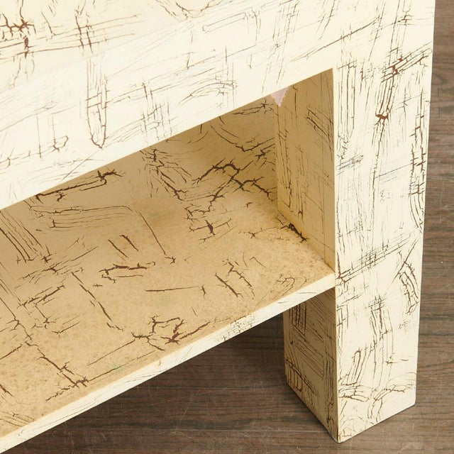 Modern Pair Juan Pablo Molyneux Side Tables For Sale - Image 3 of 7