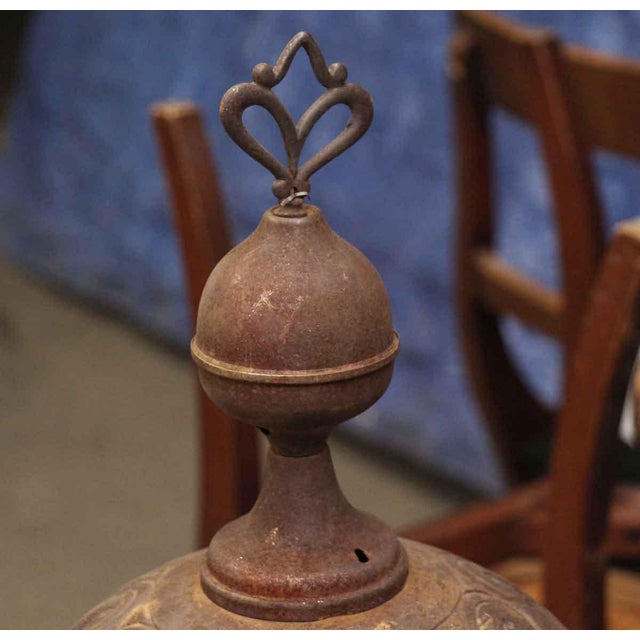 Antique Oak Bengal Stove For Sale - Image 9 of 13