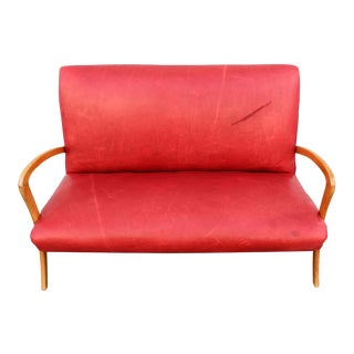 Italian Settee in Style of Paolo Buffa For Sale