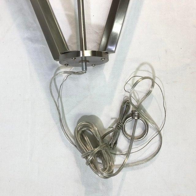2010s Capital Lighting Baxley 4-Light Brushed Nickel Mini Chandelier For Sale - Image 5 of 9