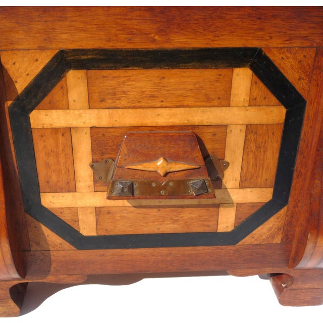 Phenomenal Parquetry & Brass Blanket or Hope Chest - Image 6 of 10