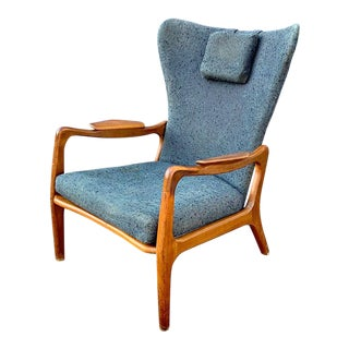 Authentic Adrian Pearsall for Craft Associates Wingback Chair For Sale