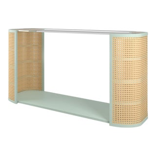 Lola Console Table - Turquoise Mist For Sale