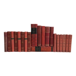 Vintage Red World Classics - Set of 20 For Sale