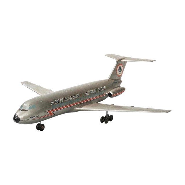 Vintage American Airlines Astrojet Aviation Model For Sale