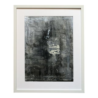 Motif 226 Shades of Gray Abstract Painting For Sale