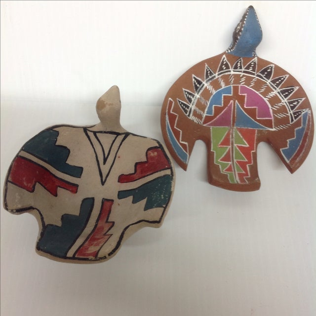 Native American Effigy Collection- Set of 3 For Sale - Image 9 of 9