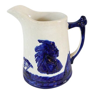 Antique Monmouth Sleep Eye Pitcher For Sale