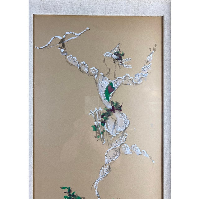 Marcel Vertes Paintings - a Pair of Whimsical Dancers For Sale In Los Angeles - Image 6 of 13