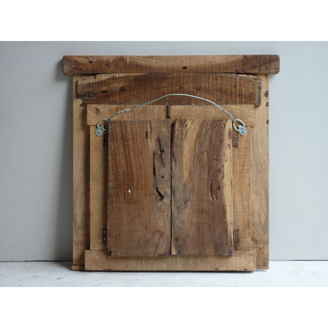 Early 20th Century Hand Painted Nepalese Door For Sale - Image 5 of 5