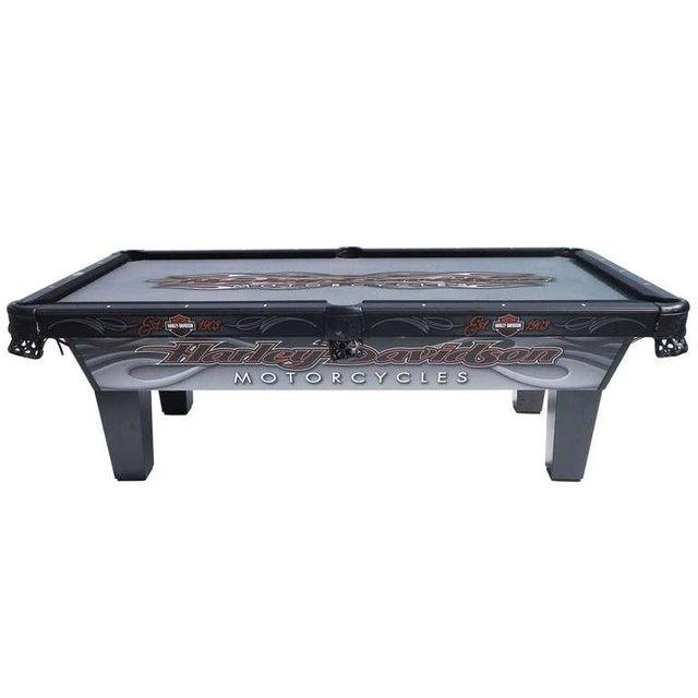 Harley Davidson Custom Pool Table - Image 1 of 8