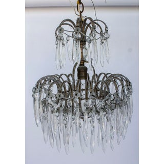 Victorian Crystal & Micro Bead Chandelier Preview