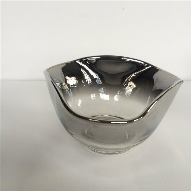 Silver Ombre Bowls- Set of 4 - Image 5 of 7