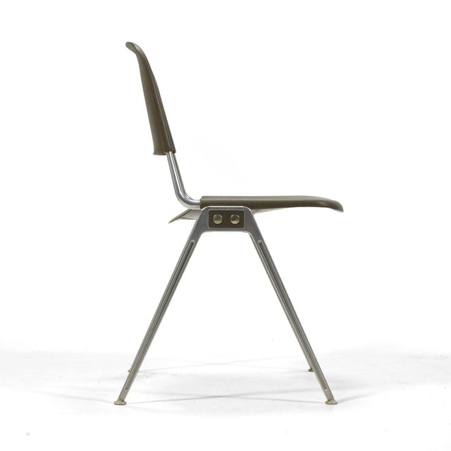 Knoll Don Albinson Stacking Side Chairs by Knoll Set of 14 For Sale - Image 4 of 11