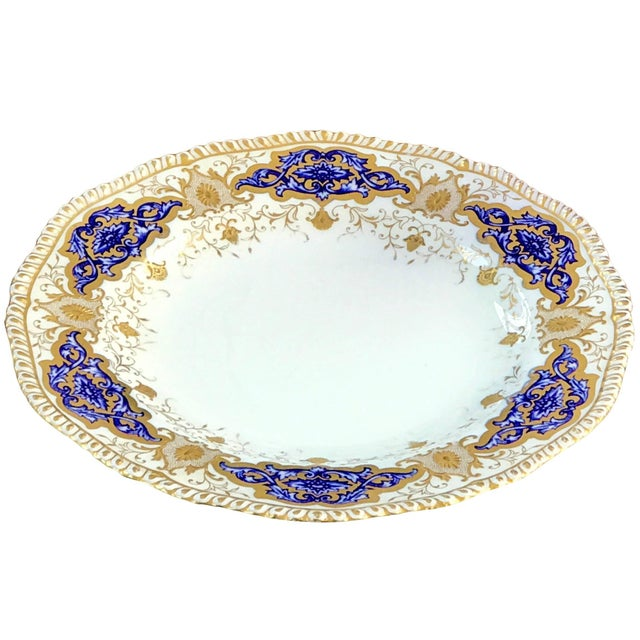 This gorgeous set of 10 coalport dinner plates were made in England, circa 1890-1900 for Spaulding & Co. Chicago as the...