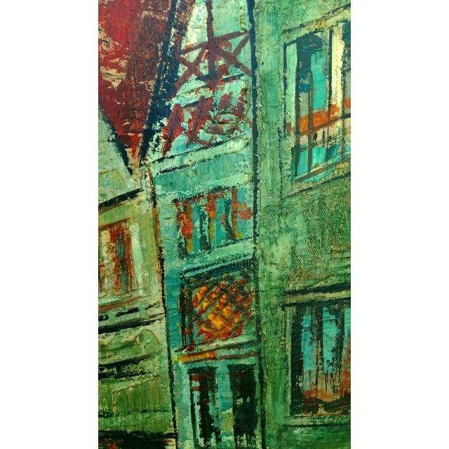 Rustic Street Scene Painting by Geo Koppany - Image 8 of 9