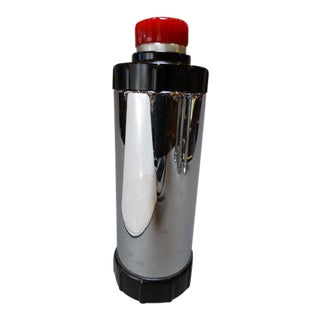 Mid 20th Century Stainless Cocktail Shaker Thermos For Sale