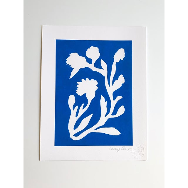 Sunprints Giclees Signed and Embossed by Neicy Frey - Set of 8 For Sale - Image 10 of 11