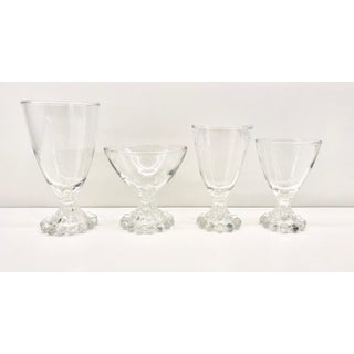 Vintage Anchor Hocking Boopie Candlewick Glasses - Set of 27 Preview