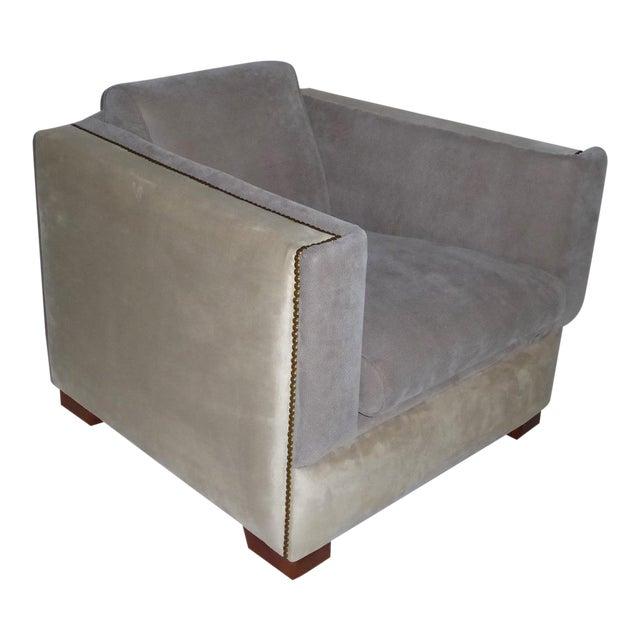 1940s Vintage Paul Frankl Style Streamline Moderne Lounge Chair For Sale