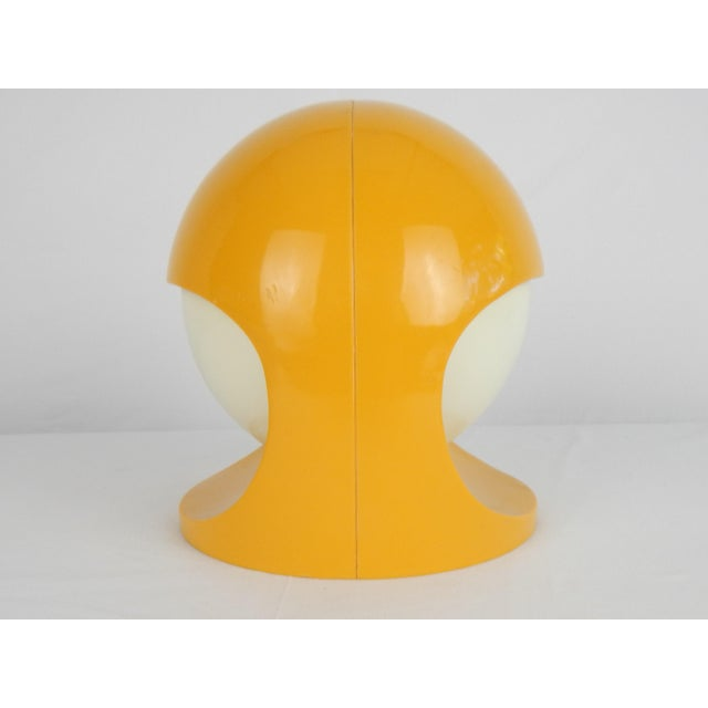 """Plastic Space Age Lightolier """"Interplay 2"""" Yellow Lamp For Sale - Image 7 of 13"""