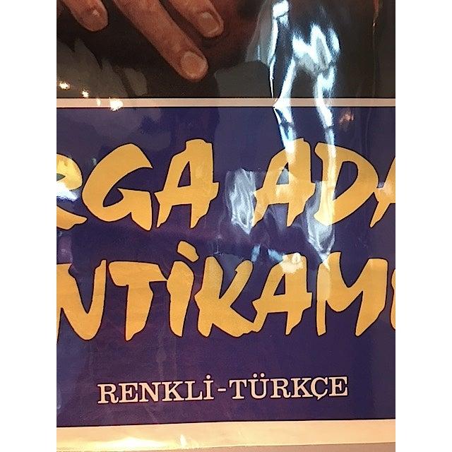 Original Turkish Bruce Lee Poster 1970s For Sale - Image 4 of 4