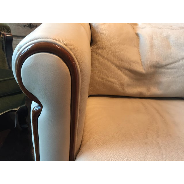 Italian Art Deco Style Club Chair For Sale - Image 4 of 8