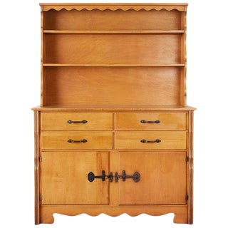 California Rancho Monterey Cupboard Cabinet by Frank Mason For Sale