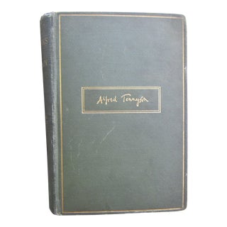 Early 20th Century Vintage Alfred Tennyson Book For Sale