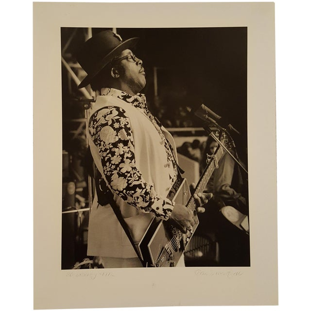 Bo Diddley Photography by Barrie Wentzell - Image 1 of 4