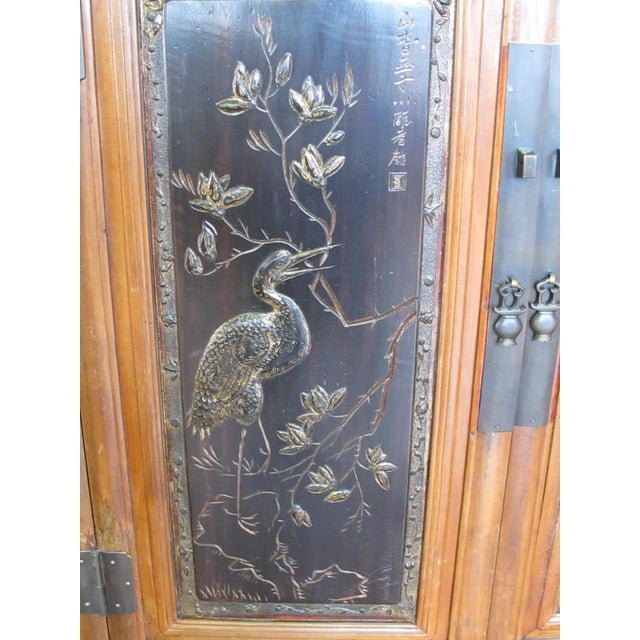 Crane & Phoenix Motif Cabinet For Sale In Boston - Image 6 of 10