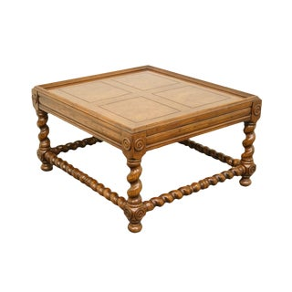 Late 20th Century Vintage Henredon Four Centuries Collection Side Table For Sale
