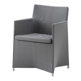 Cane-Line Diamond Chair, Gray For Sale