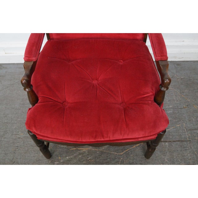 French Country Fauteuils Arm Chairs - A Pair - Image 7 of 11