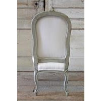 20th Century Painted & Upholstered Louis XV Style Child's Chair - Image 4 of 6