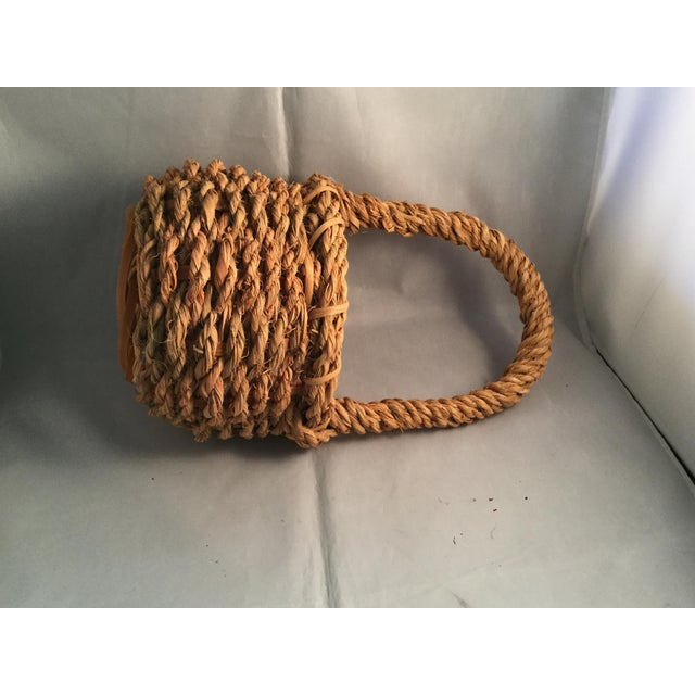 2000 - 2009 Hemp Wishing Well Basket For Sale - Image 5 of 6