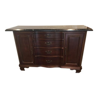 Vintage Traditional Buffet For Sale