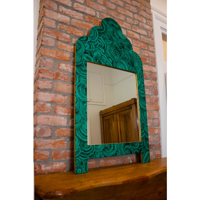 This is a custom mirror designed, built and painted right here in the heart of New Orleans by E. Lee Jahncke Mead. The...