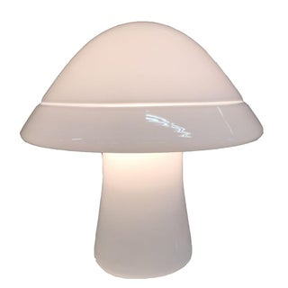 1970s Vintage RES Murano Mushroom Lamp For Sale