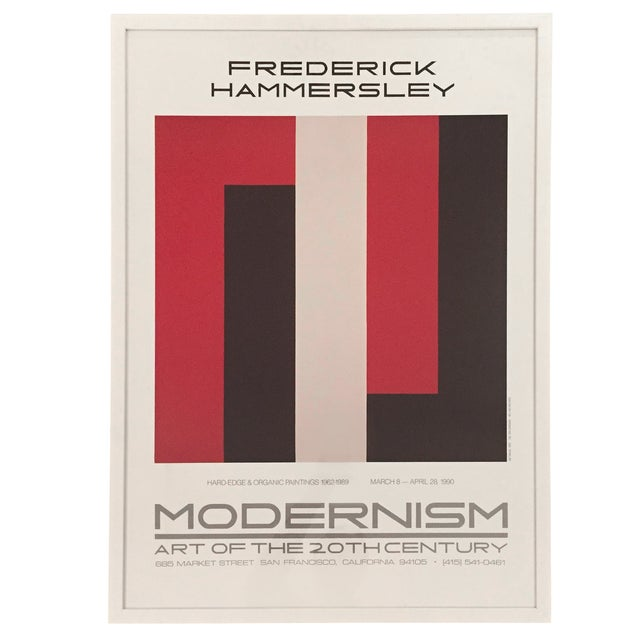 Frederick Hammersley Modernism-Print Only - Image 1 of 5