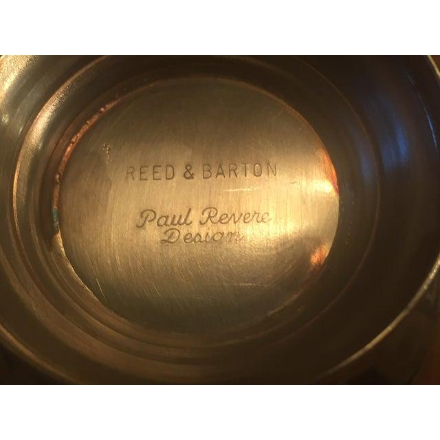 Vintage Reed Barton Paul Revere Design Silver Plated Bowls Set