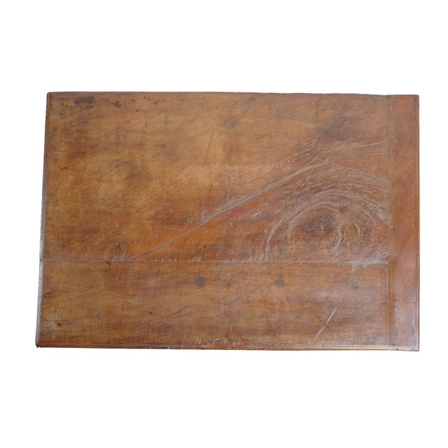 Antique Wood Trunk For Sale - Image 4 of 5