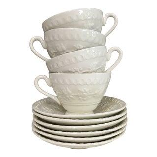 "Wedgwood & Barlaston of Etruria ""Wellesley"" Tea Service, Set of 10 For Sale"
