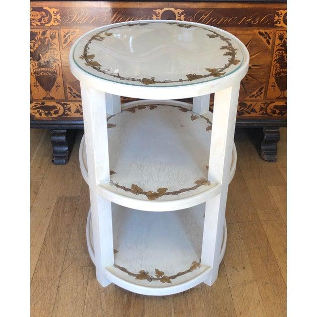 Vintage Designer Hollywood Regency End Table For Sale - Image 4 of 5