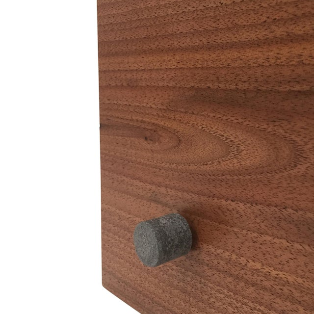 Not Yet Made - Made To Order Walnut Wood Tabletop Scarpa Light For Sale - Image 5 of 9